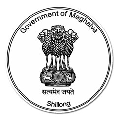Seal Of Indian State Of Meghalaya Magnet 5  (round) by abbeyz71