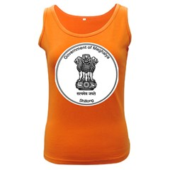 Seal Of Indian State Of Meghalaya Women s Dark Tank Top by abbeyz71
