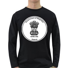 Seal Of Indian State Of Meghalaya Long Sleeve Dark T Shirts by abbeyz71
