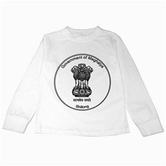 Seal Of Indian State Of Meghalaya Kids Long Sleeve T Shirts by abbeyz71