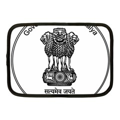 Seal Of Indian State Of Meghalaya Netbook Case (medium)  by abbeyz71