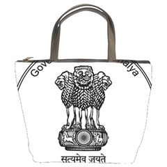 Seal Of Indian State Of Meghalaya Bucket Bags by abbeyz71