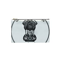 Seal Of Indian State Of Meghalaya Cosmetic Bag (small)  by abbeyz71