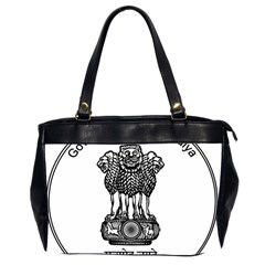 Seal Of Indian State Of Meghalaya Office Handbags (2 Sides)  by abbeyz71