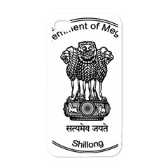 Seal Of Indian State Of Meghalaya Apple Iphone 4 Case (white) by abbeyz71