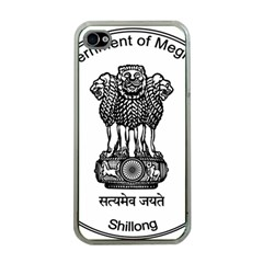 Seal Of Indian State Of Meghalaya Apple Iphone 4 Case (clear) by abbeyz71