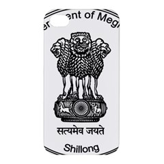 Seal Of Indian State Of Meghalaya Apple Iphone 4/4s Hardshell Case by abbeyz71