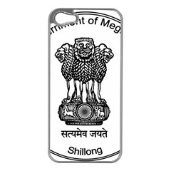 Seal Of Indian State Of Meghalaya Apple Iphone 5 Case (silver) by abbeyz71