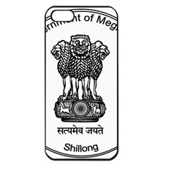 Seal Of Indian State Of Meghalaya Apple Iphone 5 Seamless Case (black) by abbeyz71