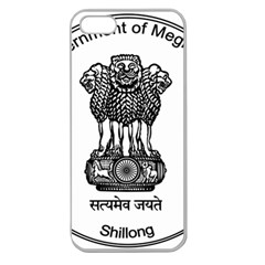 Seal Of Indian State Of Meghalaya Apple Seamless Iphone 5 Case (clear) by abbeyz71