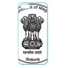 Seal Of Indian State Of Meghalaya Apple Seamless Iphone 5 Case (color) by abbeyz71