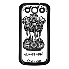 Seal Of Indian State Of Meghalaya Samsung Galaxy S3 Back Case (black) by abbeyz71