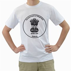 Seal Of Indian State Of Meghalaya Men s T Shirt (white)  by abbeyz71