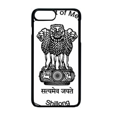 Seal Of Indian State Of Meghalaya Apple Iphone 7 Plus Seamless Case (black) by abbeyz71