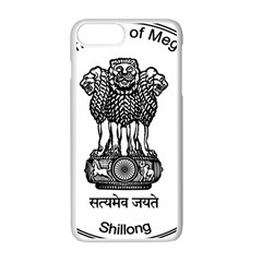 Seal Of Indian State Of Meghalaya Apple Iphone 7 Plus White Seamless Case by abbeyz71