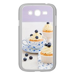 Blueberry Cupcakes Samsung Galaxy Grand Duos I9082 Case (white)