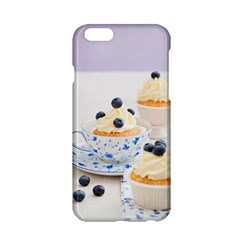 Blueberry Cupcakes Apple Iphone 6/6s Hardshell Case by Coelfen