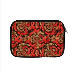Red And Brown Pattern Apple Macbook Pro 15  Zipper Case by linceazul