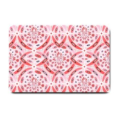 Geometric Harmony Small Doormat  by linceazul