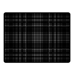 Plaid Design Fleece Blanket (small) by Valentinaart