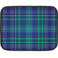 Plaid Design Double Sided Fleece Blanket (mini)  by Valentinaart