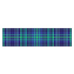 Plaid Design Satin Scarf (oblong) by Valentinaart