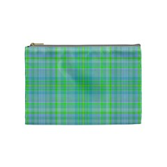 Plaid Design Cosmetic Bag (medium)