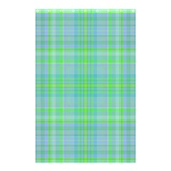 Plaid Design Shower Curtain 48  X 72  (small)  by Valentinaart