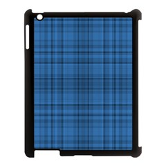 Plaid Design Apple Ipad 3/4 Case (black) by Valentinaart