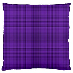 Plaid Design Standard Flano Cushion Case (one Side)