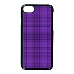 Plaid Design Apple Iphone 7 Seamless Case (black)