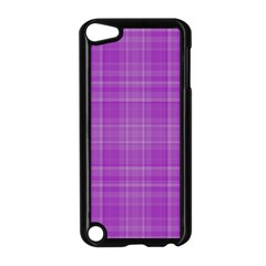 Plaid Design Apple Ipod Touch 5 Case (black) by Valentinaart