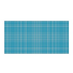 Plaid Design Satin Wrap