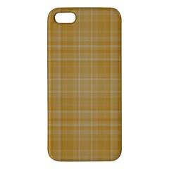 Plaid Design Apple Iphone 5 Premium Hardshell Case