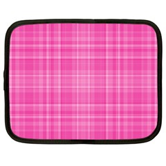 Plaid Design Netbook Case (xl)