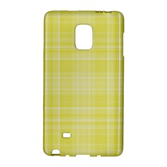 Plaid Design Galaxy Note Edge by Valentinaart