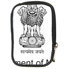 Seal Of Indian State Of Mizoram Compact Camera Cases by abbeyz71