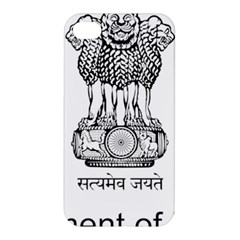 Seal Of Indian State Of Mizoram Apple Iphone 4/4s Premium Hardshell Case by abbeyz71