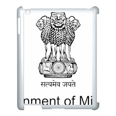 Seal Of Indian State Of Mizoram Apple Ipad 3/4 Case (white) by abbeyz71