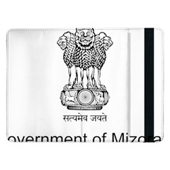 Seal Of Indian State Of Mizoram Samsung Galaxy Tab Pro 12 2  Flip Case by abbeyz71