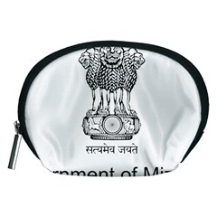 Seal Of Indian State Of Mizoram Accessory Pouches (medium)  by abbeyz71