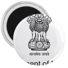 Seal Of Indian State Of Mizoram 3  Magnets by abbeyz71