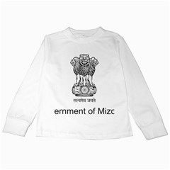Seal Of Indian State Of Mizoram Kids Long Sleeve T-shirts by abbeyz71