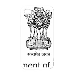 Seal Of Indian State Of Mizoram Apple Iphone 4 Case (white) by abbeyz71