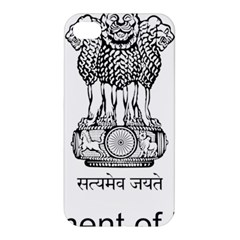 Seal Of Indian State Of Mizoram Apple Iphone 4/4s Hardshell Case by abbeyz71