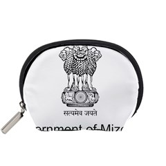 Seal Of Indian State Of Mizoram Accessory Pouches (small)  by abbeyz71