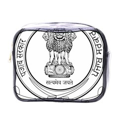 Seal Of Indian State Of Punjab Mini Toiletries Bags by abbeyz71