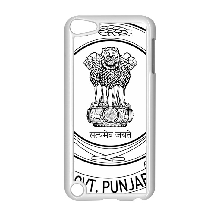 Seal of Indian State of Punjab Apple iPod Touch 5 Case (White)