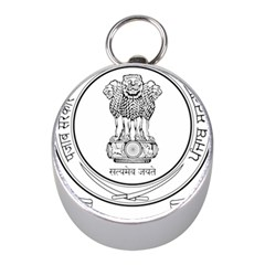 Seal Of Indian State Of Punjab Mini Silver Compasses by abbeyz71