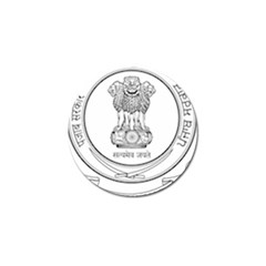 Seal Of Indian State Of Punjab Golf Ball Marker (4 Pack) by abbeyz71
